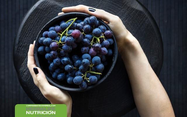 Aceite de uva muscadina para evitar formar grasa en el cuerpo