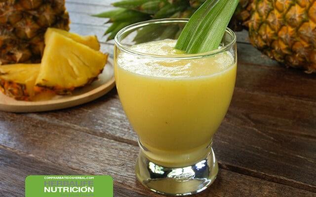 Combina pedidos Herbalife online con fruta