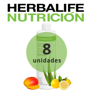 Pack 8 bebidas de Aloe Herbalife