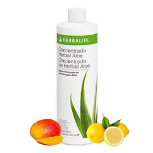 Aloe Herbalife bebida herbal