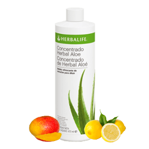 Aloe Herbalife bebida herbal