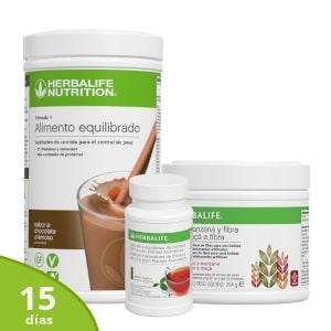 Pack avanzado | 15 días Herbalife control peso