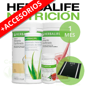 Pack medio Herbalife + Accesorios | 1 mes